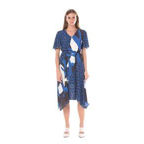 T-SHIRT-DRESS-DECOTE-VIES-REBATIDO---ESTAMPADO-AZ---P